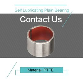PTFE Customzied Size Self Lubricating Plain Bearing DIN 1494 / ISO 3547