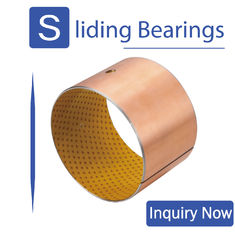 No Lead No Oil Self Lubricating Polymer Plain Bearings RoHS Certification